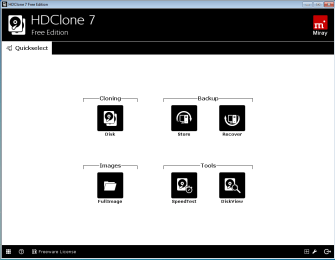 HD Clone 7 – Simple disk cloning software for Windows 10