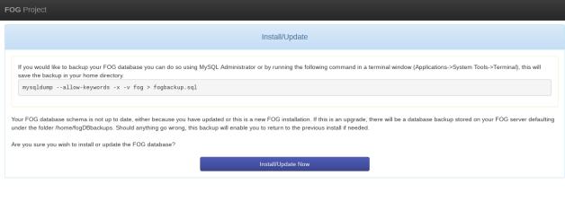 How To Intall FOG Network Backup on Ubuntu 16 04 Server
