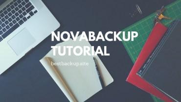 Full System Backup Using NovaBackup 19.1 – Unofficial Guide