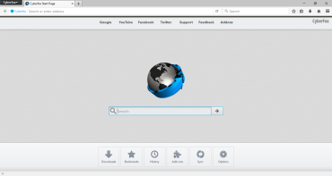 Cyberfox 52.8 – Secured web browser based on Firefox