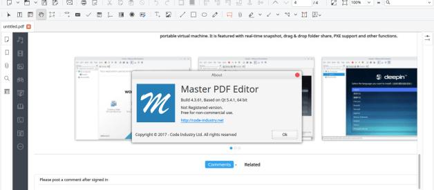 Master PDF Editor 5.0 – Free PDF Editing Tool for Linux
