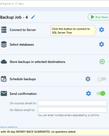 How to Backup SQL Server Database Using SQLBackupAndFTP