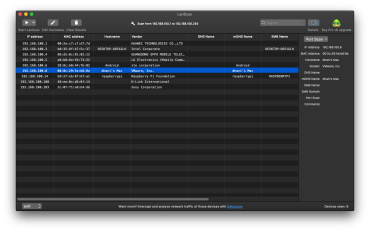 LANScan 6.0.4 – A Free IP Scanning Utility for Mac OS X