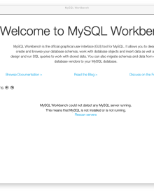 How to Install MySQL Workbench 8.0 on Mac OS X Mojave