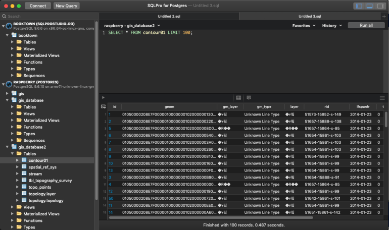 sqlpro for postgres