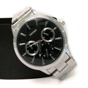 Diniho 1019G Steel Belt Wrist Watch for Men