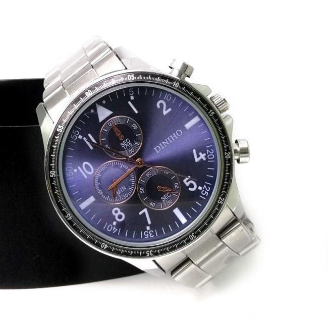 Diniho 1118G Steel Belt Wrist Watch for Men