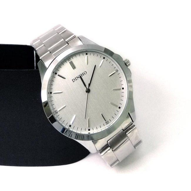 Diniho F027G Steel Belt Wrist Watch for Men