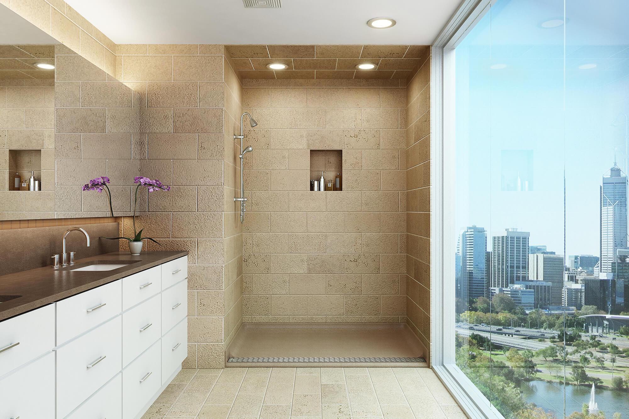 Bestbath Ada Shower Stalls Commercial Showers Walk In