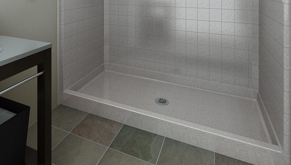 types of shower pans bestbath