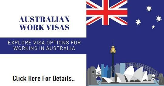 Australian Work Permit Visa 2020