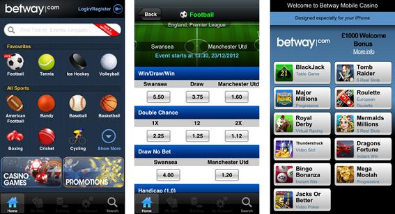betray sports betting app
