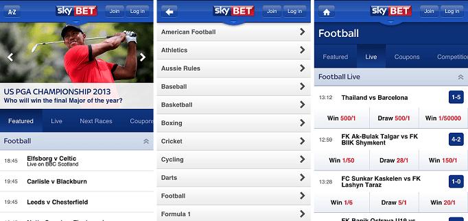Sky Bet Sportsbook Review 1