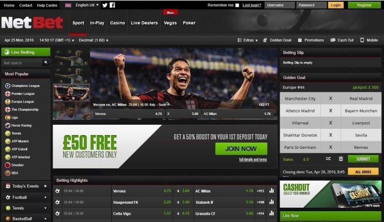 netbet homepage