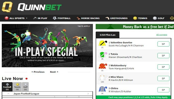QuinnBet Review 1