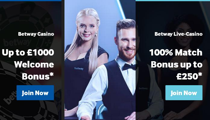 Betway Casino Review 1