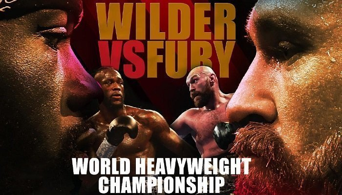 When will the Wilder v Fury Fight End? 1