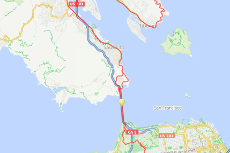 San Francisco Bike Routes Full HD MAPS Locations Another World - San francisco bike map