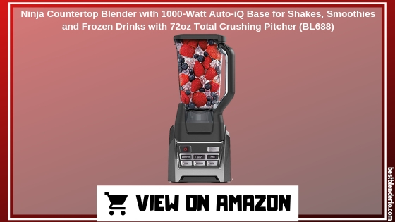Ninja Countertop Blender with 1000-Watt Auto-iQ Base Blender