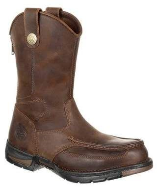 Georgia Boot Men's Athens Pull on Work Boots