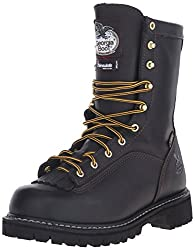 Mens logger boots