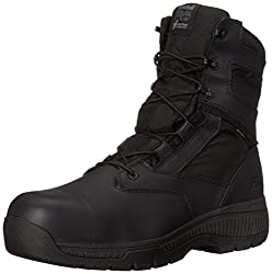 Timberland PRO Mens 8 Valor Composite-Toe Waterproof Side-Zip Work Boot