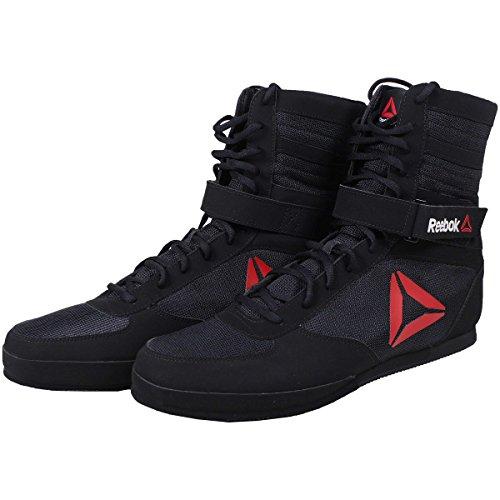 16c453058 Reebok Men's Boxing Boot-Buck Sneaker, Delta-Black/Black/White, 12 M US |  Best Boxing Shoes