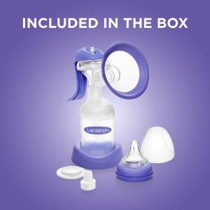 Lansinoh Bpa Free Manual Hand Breast Pump To Express Breast Milk
