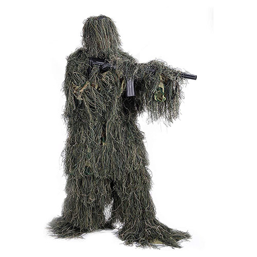 Top 10 Best Military Ghillie Suits of 2021 Reviews
