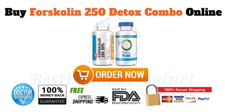 Buy Forskolin 250 and Detox Combo Online