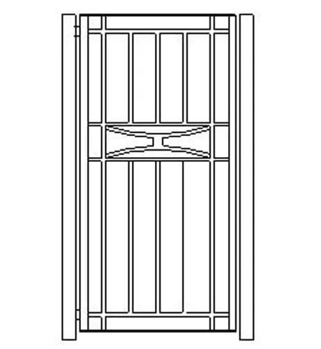 pedestrian gates icgg17 1800