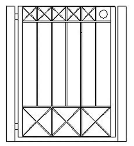 pedestrian gates icgg18 1200