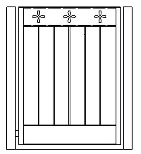 pedestrian gates icgg19 1200