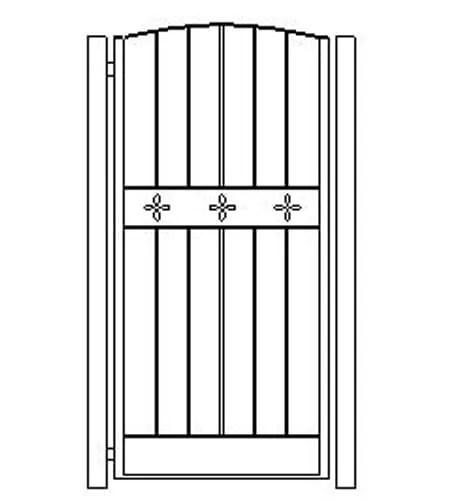 pedestrian gates icgg19 1800