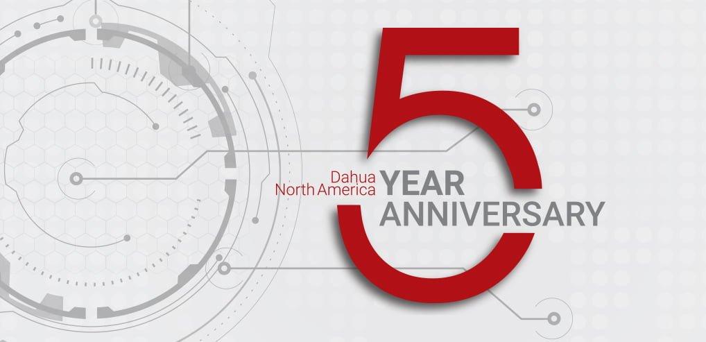 Dahua Technology USA Celebrates Five Years in North America –