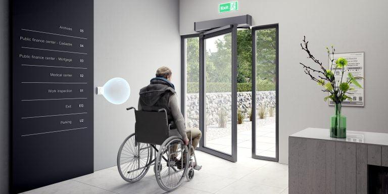 hands free door opener disabled 1