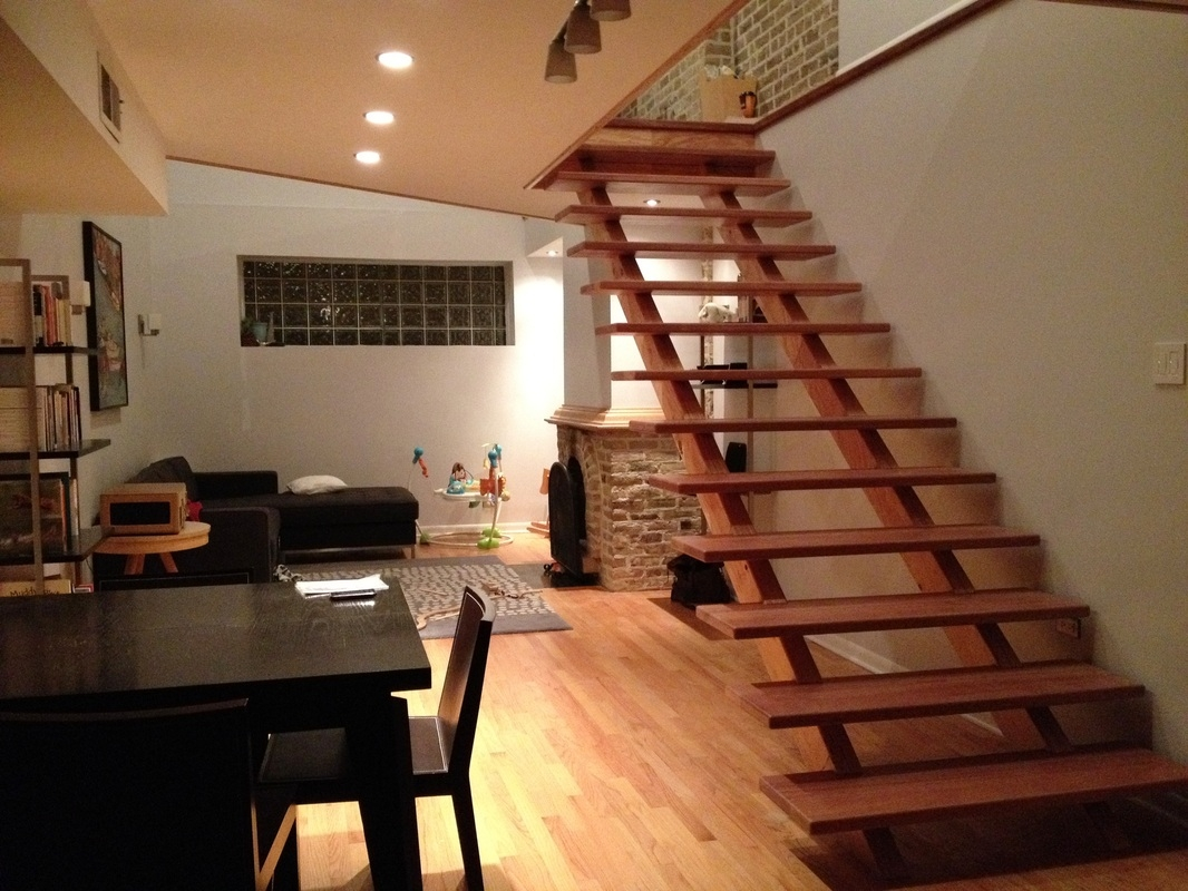 This Was The Last Condo In The Building That Hadn T Had A Floor Built All | African Mahogany Stair Treads | Handrail | Cutting Board | Plank | Oak | Mahogany Wood Stair
