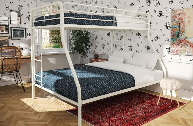 Review Sturdy Kids Sturdy Twin Over Full Metal Bunk Bed
