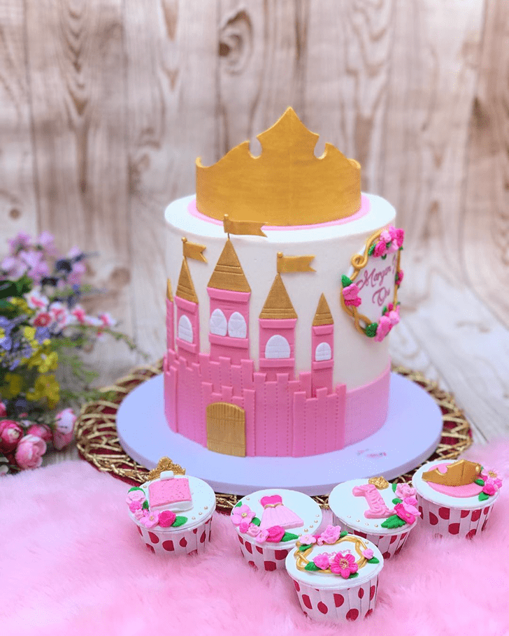 Appealing Sleeping Beauty Cake