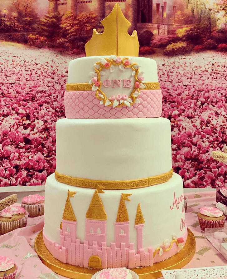 Captivating Sleeping Beauty Cake
