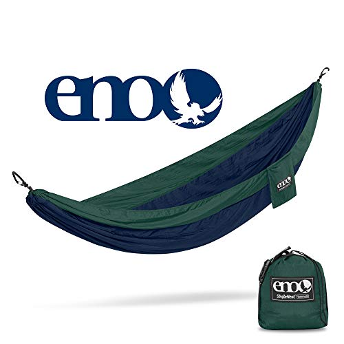 Navy//Forest SH005 ENO Eagles Nest Outfitters SingleNest Hammock Portable Hammock for One