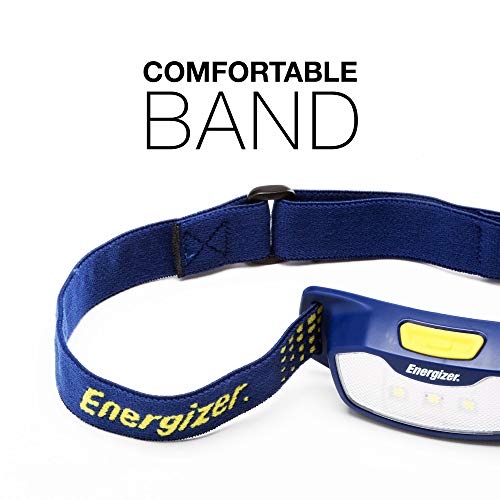 Emergency Light Energizer LED Headlamp Batteries Included Durable for Camping Best Head Lamp for Adults and Kids Hiking High Lumens Outdoors