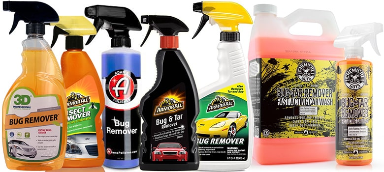 Car bug & tar Removers