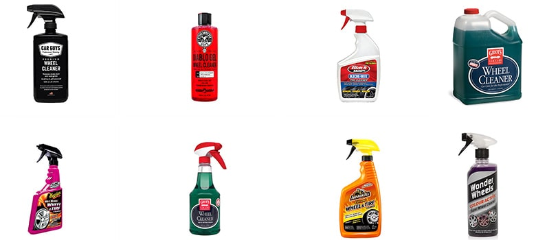 Car Wheel Cleaner Spray