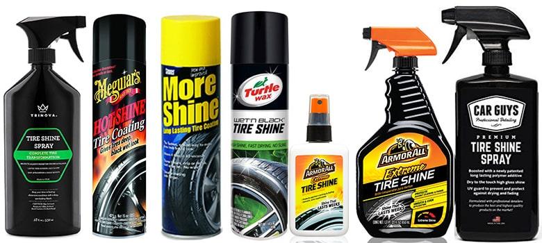 car tire shine product