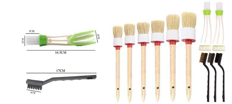 car detailer brush - automobile detail brushes