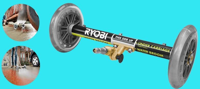 ryobi undercarriage cleaner ryobi water broom ryobi pressure washer wand