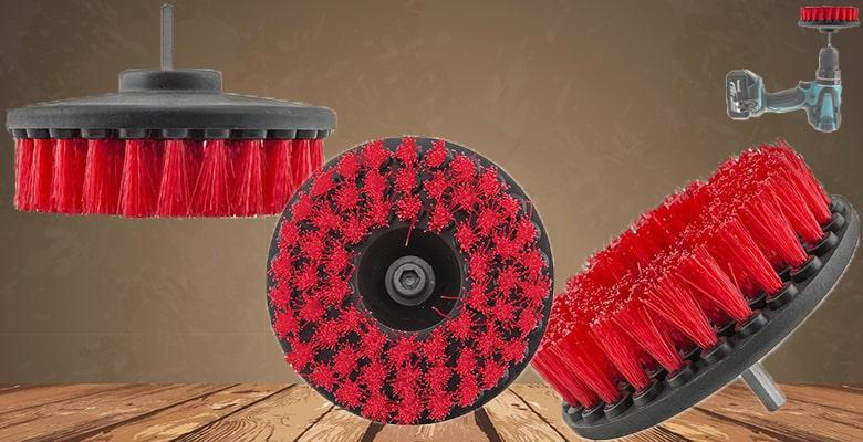 nylon brush drill attachment