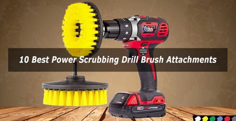 brush attachment for drill
