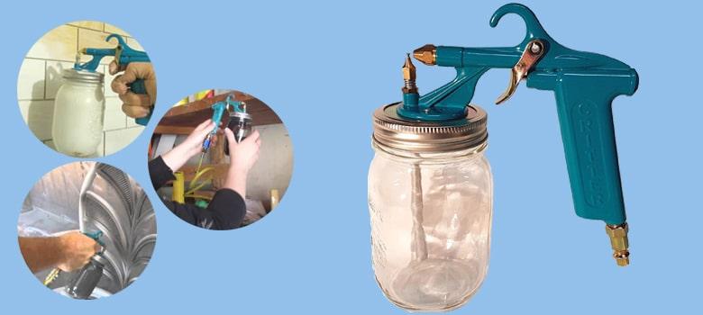 Best Undercoating Spray Gun - Critter Spray Products 22032 118SG Siphon Gun